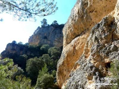 Hundido de Armallones - Alto Tajo; viaje fin de semana; marzo; semana santa;hoces del duraton